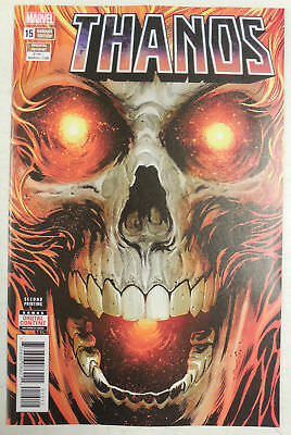 THANOS # 15 Comic  2nd Print VARIANT Cosmic GHOST RIDER Marvel Comics 2018 NM