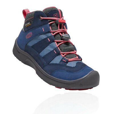 Keen Junior Hikeport Mid Waterproof Hiking Boot Blue Sports Outdoors Breathable