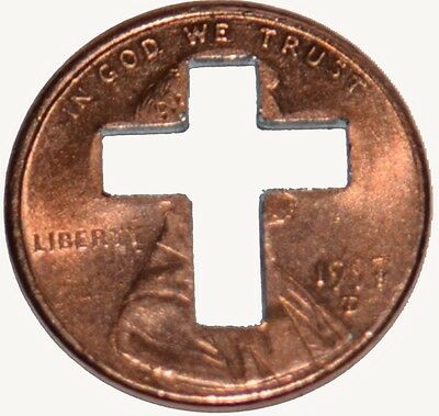 1500 Cross Penny's for Christian Ministries   Punch out's