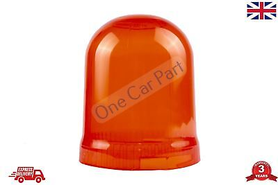 Rotating Flashing Amber Hazard Beacon LENS AMBER High Quality Orange