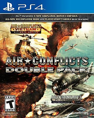 Air Conflicts - Double Pack - PlayStation 4 PS4 - New