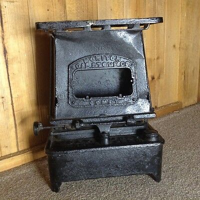 Monitor Oil Stove Co. 1885 Comet Single Burner Kerosene Heater/stove