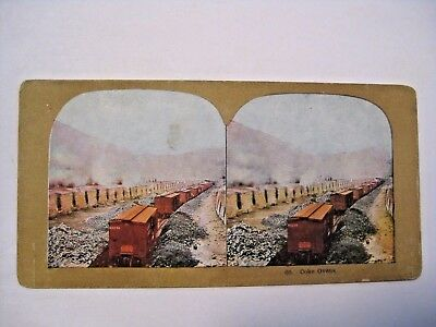 Antique Mining Railroad Coke Ovens Stereoview Card ~ See All Our Cards