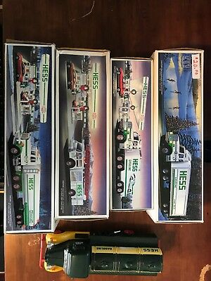 HESS Toy Truck Lot of 5 1988 1989 1990 1980 's