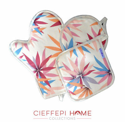 Guanto + 2 Presine art. Betty - Cieffepi Home Collections