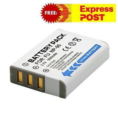 Battery for Fujifilm NP-95 and Fuji FinePix REAL 3D W1, X100, X100S