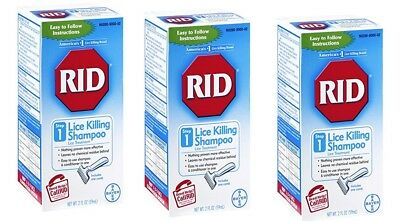 RID Lice Killing Shampoo 2 oz Treatment Step 1 Lice Killing