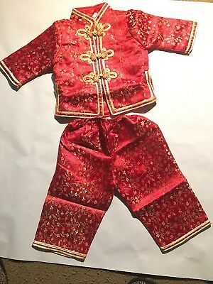 new todder traditional asian embroider jacket with pant ( c-1 )