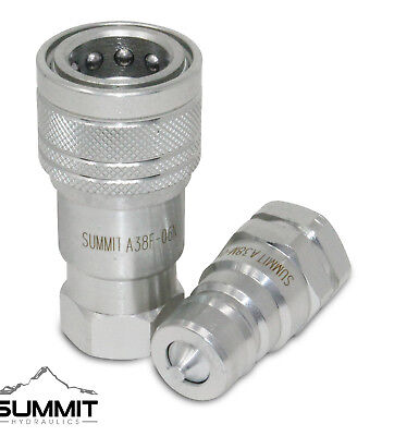 3/8″ NPT ISO 7241-A Quick Disconnect Hydraulic Coupler Set