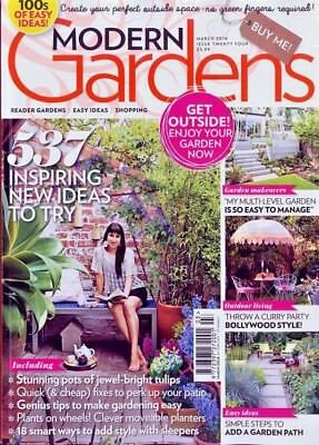Modern Gardens Magazine March 2018 ~ New ~