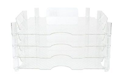 American Crafts Stackable Paper Tray by We R Memory Keepers | 12 x 12-in, 4 pack