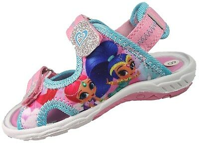 Girls Shimmer and Shine Summer Sports Aqua Beach Sandals Trainer Shoes