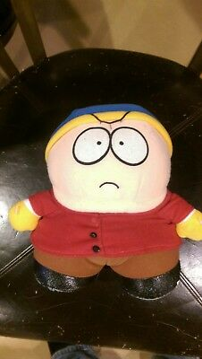 SOUTH PARK TALKING CARTMAN PLUSH TOY DOLL FIGURE Works plus magnet & window hang