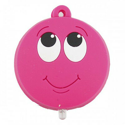 Key Buddies Torch Light - Pink Smiley