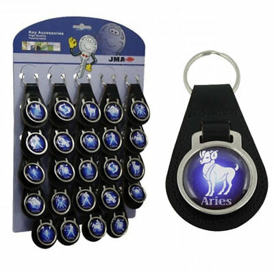 Leather Key Fob - Aries