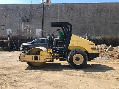 """2005 Bomag BW177D-3  66"""" Smooth Drum Vibratory Compactor Roller; 3348 HRS"""