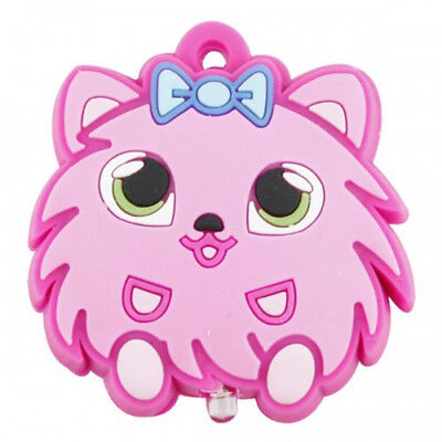 Key Buddies Torch Light -Pink Furry