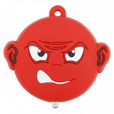 Key Buddies Torch Light -Angry Smiley