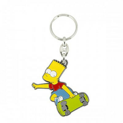 Bart on Skateboard Keyring