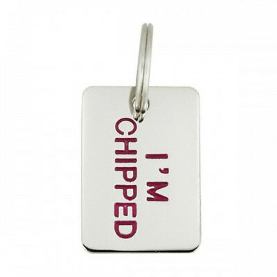 Engravable Pet Tag - I'm Chipped
