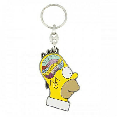 Homers Brain Keyring