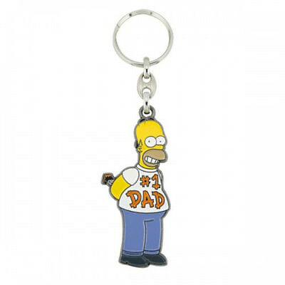 Homer No. 1 Dad Key Ring