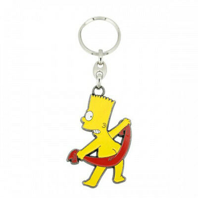 Bart Towel Key Ring
