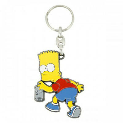 Bart Spray Paint Key Ring