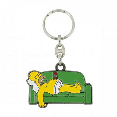 Homer Couch Key Ring