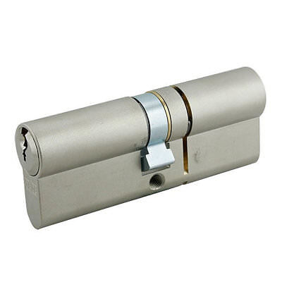 GeGe pExtra Guard 3 Star Euro Double Cylinder 60/45 105mm Nickel