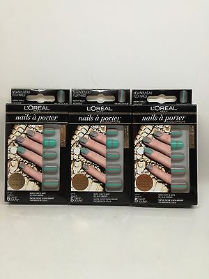 L'OREAL NAILS A PORTER by COLOR RICHE - 005 NEO COUTURE - 3 PEZZI