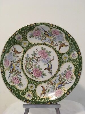 Chinese/Japanese Antique? Plate With Birds And Flowers