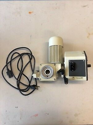 BUCHI ROTAVAPOR RE111 Drive Motor and Housing