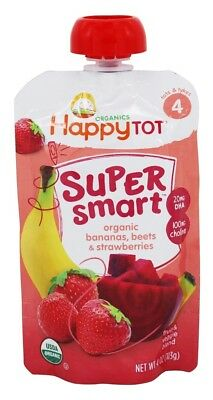 HappyFamily - HappyTot Organic Stage 4 Super Smart Pouch Bananas, Beets &