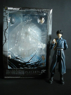Square Enix ~ Play Arts Kai Fullmetal Alchemist EDWARD, ALPHONES, ROY Lot used