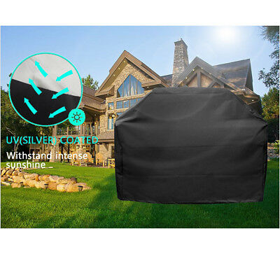 """Heavy Duty 57"""" 67 75"""" Waterproof BBQ Cover Gas Barbecue Grill Protection Outdoor"""
