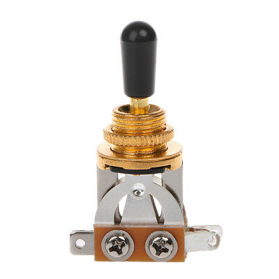 For Les Paul 3-Way Gold Toggle Switch Guitar Selector Pickup Guitar Parts