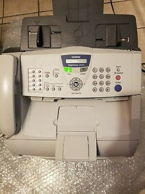 Brother IntellifAX 2820 All-In-One, Total page counter 868, DR-350 Drum Life 94%