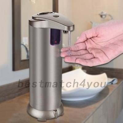 Stainless Steel Automatic IR Sensor Touchless Soap Liquid Dispenser Free Hand
