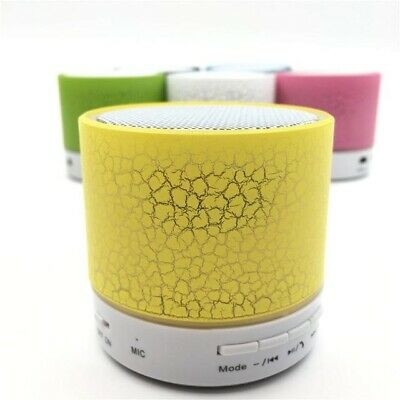 LED Bluetooth Speaker Mini Speakers Hands Free Portable Wireless Speaker