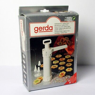 Gerda Biscuit Press 'Optima Color' - Complete with Instructions Made in Germany