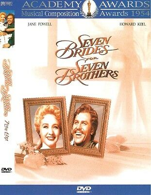 Seven Brides for Seven Brother (1954) New Sealed DVD Jane Powell