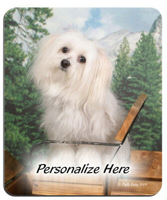 Maltese    ( 51 )    Personalized   Mouse Pad