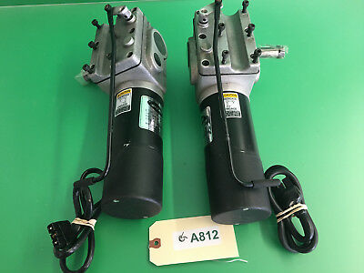 Left & Right Motors for Invacare Pronto Sure Step M51- 1127394 -1127395  #A812