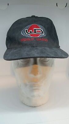 "Vintage Original Iconic ""World Dance"" collectable cap90's rave"