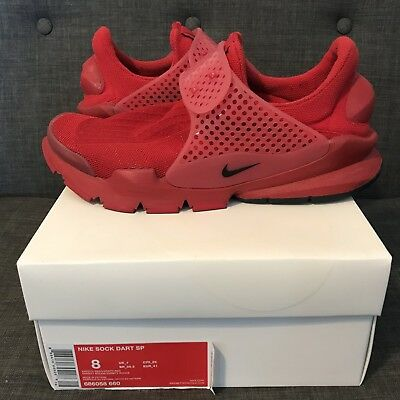 half off 1f3d1 e5ac1 NIKE SOCK DART Sp Independence Day Pack Sport Red Size 8-8.5