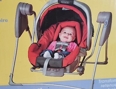 Graco Snugglider Classic Connect Infant Car Seat Swing Frame