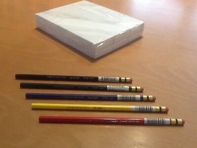PrismaColor, Col-Erase Pencils Box Of 12 (Black, Blue, Green, Yellow or Red)