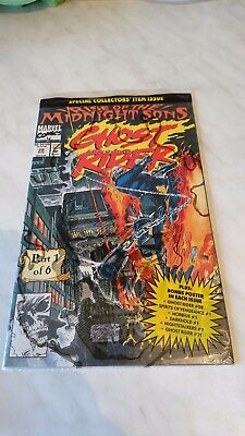 Marvel Special GHOST RIDER Rise of The Midnight Sons - Aug 1992 - sealed bag