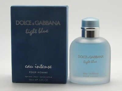 bea79a22b4df0 LIGHT BLUE EAU Intense by Dolce   Gabbana for Men - 3.3 oz   100 ml ...